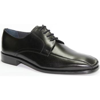 Schuhe Herren Derby-Schuhe Made In Spain 1940  Schnürsenkel Zeremonie Kleid Grimmaldi Schwarz