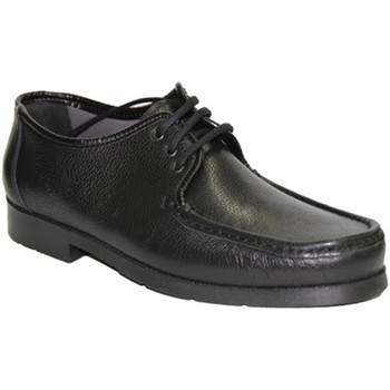 Schuhe Herren Derby-Schuhe Himalaya  Mokassin sehr komfortabel Schnürsenkel Schwarz