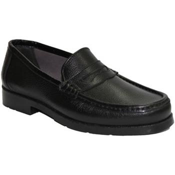 Schuhe Herren Slipper Himalaya  Nicht sehr komfortabel Mokassin Schnür Schwarz