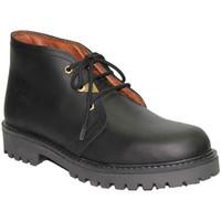 Schuhe Herren Boots Otro  Typ Schnürsenkel Panama  schwarz Schwarz