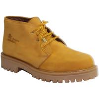 Schuhe Herren Boots Otro  Typ Schnürsenkel Panama  Creme Beige