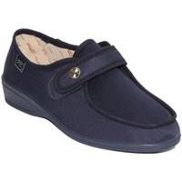 Schuhe Damen Slipper Doctor Cutillas  Schuhe mit Klettverschluss sehr empfin Blau
