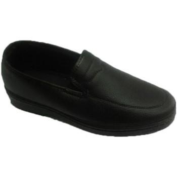 Schuhe Herren Slipper Made In Spain 1940  Schuhkrabbe Himmel Sendero schwarz Schwarz