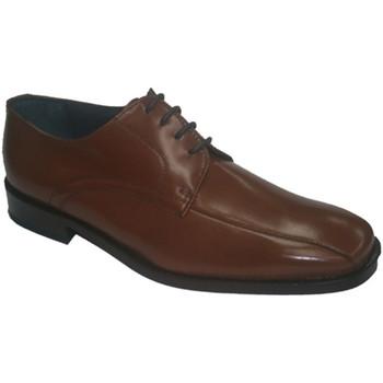 Schuhe Herren Derby-Schuhe Made In Spain 1940  Schuhspitzenkleid Grimmaldi Leder Braun