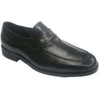 Schuhe Herren Slipper Made In Spain 1940  Extra breite Schuh tragen Sie bequeme Schwarz