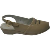 Schuhe Damen Sandalen / Sandaletten Doctor Cutillas  Sandale mit Gummi auf dem Blatt mit Le Beige