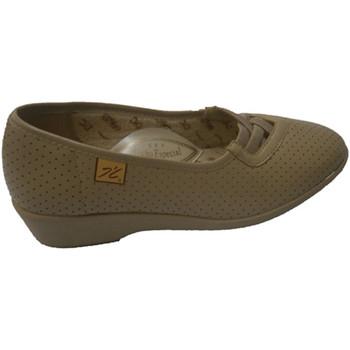 Schuhe Damen Slipper Doctor Cutillas  Schuhe mit Gummientwurf Quer Doctor Cu Beige
