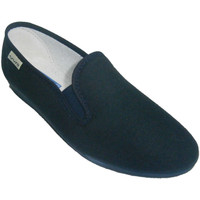 Schuhe Damen Slip on Muro Klassische niedrige Keilschuh  marin Blau