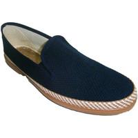 Schuhe Herren Hausschuhe Made In Spain 1940 Sneaker Soca marineblau Blau