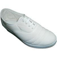 Schuhe Damen Tennisschuhe Made In Spain 1940 Wedge Schnürsenkel zu gehen Soca weiß Weiss