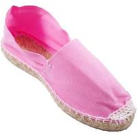 Schuhe Leinen-Pantoletten mit gefloch Made In Spain 1940 Alpargatas Flach esparto Made in Spain r Rose