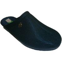 Schuhe Damen Pantoletten / Clogs Made In Spain 1940 Clogs Gitter Futter Baumwolltuch Alberol Blau