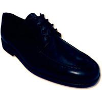 Schuhe Herren Derby-Schuhe Made In Spain 1940 Extra breite Schuhe Schnürsenkel Clayan Schwarz