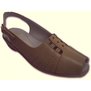 Schuhe Damen Sandalen / Sandaletten Doctor Cutillas Sehr komfortabel Dame Sandalen oberen Za Beige