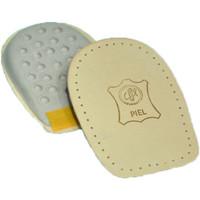 Accessoires Schuh Accessoires Cairon Unisex Leder Ferse, ein bisschen Ferse a Braun