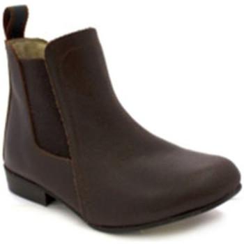 Schuhe Damen Low Boots Danka Durchschnittliche cane Beute Mädchen Dan Braun