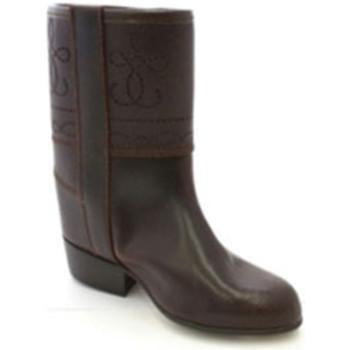 Schuhe Damen Klassische Stiefel Danka Boot druckt Jackenmädchen  braun Braun