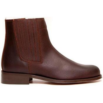 Schuhe Damen Low Boots Danka Camper Beute Mann  braun Braun