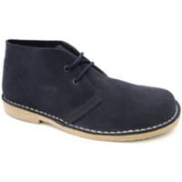 Schuhe Herren Boots Danka Breite Zehenbootsafari  marineblau Blau