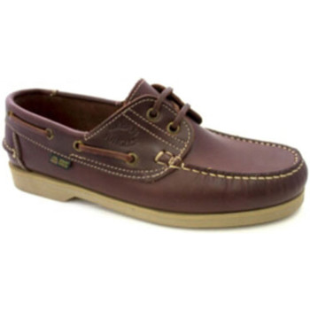 Schuhe Herren Bootsschuhe Danka Nautical dünnen Sohlen  Leder Braun