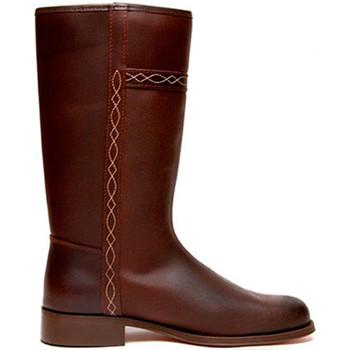 Schuhe Damen Klassische Stiefel Danka Klassische Jacke Boot  braun Braun