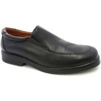 Schuhe Herren Slipper Danka Waiter Schuh ohne Schnürsenkel  sch Schwarz