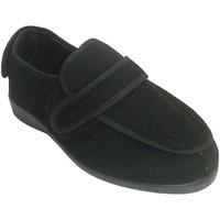 Schuhe Damen Hausschuhe Doctor Cutillas Abnehmbarer Schuh Frau für sehr empfindl Schwarz