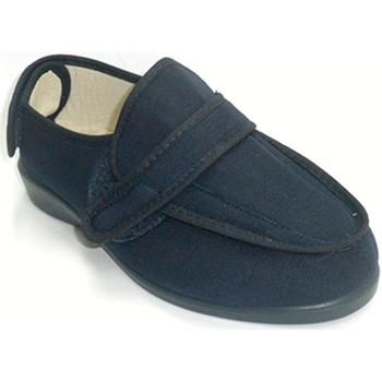 Schuhe Damen Hausschuhe Doctor Cutillas Super breites Velcro Sneakers Doctor Cut Blau