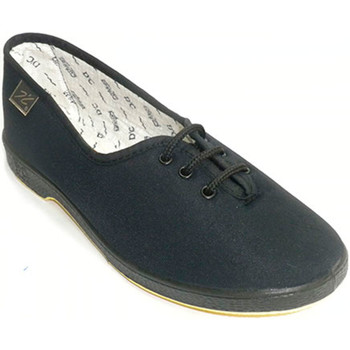 Schuhe Damen Hausschuhe Doctor Cutillas Schnürsenkel flach Person mehr Doctor Cu Schwarz