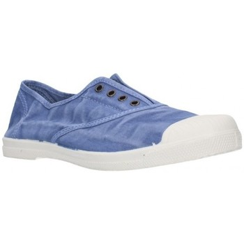 Schuhe Damen Sneaker Low Natural World 102E bleu