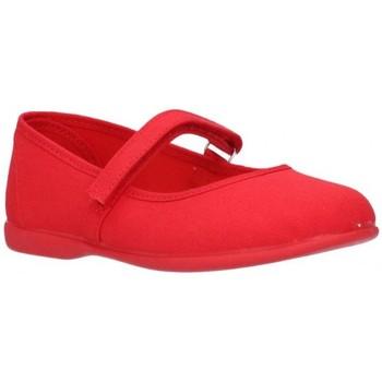 Schuhe Mädchen Ballerinas Norteñas 11301 rouge