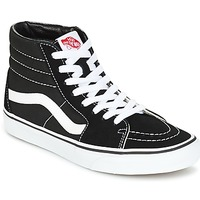 Schuhe Sneaker High Vans SK8 HI Schwarz / Weiss