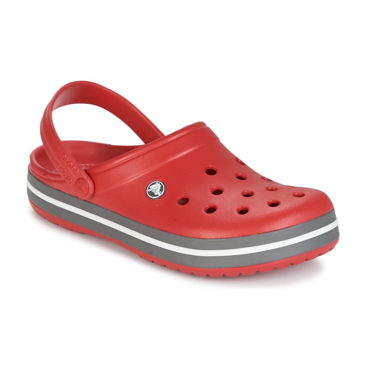 Crocs CROCBAND Rot - Kostenloser Versand bei Spartoode ! - Schuhe Pantoletten / Clogs  36,00 €