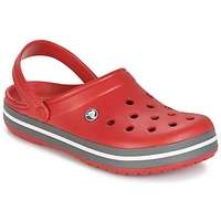 Schuhe Pantoletten / Clogs Crocs CROCBAND Rot