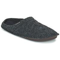 Schuhe Hausschuhe Crocs CLASSIC SLIPPER Schwarz