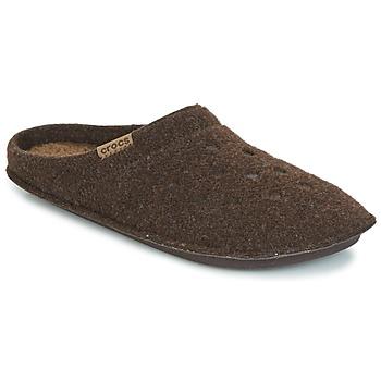 Schuhe Hausschuhe Crocs CLASSIC SLIPPER Braun