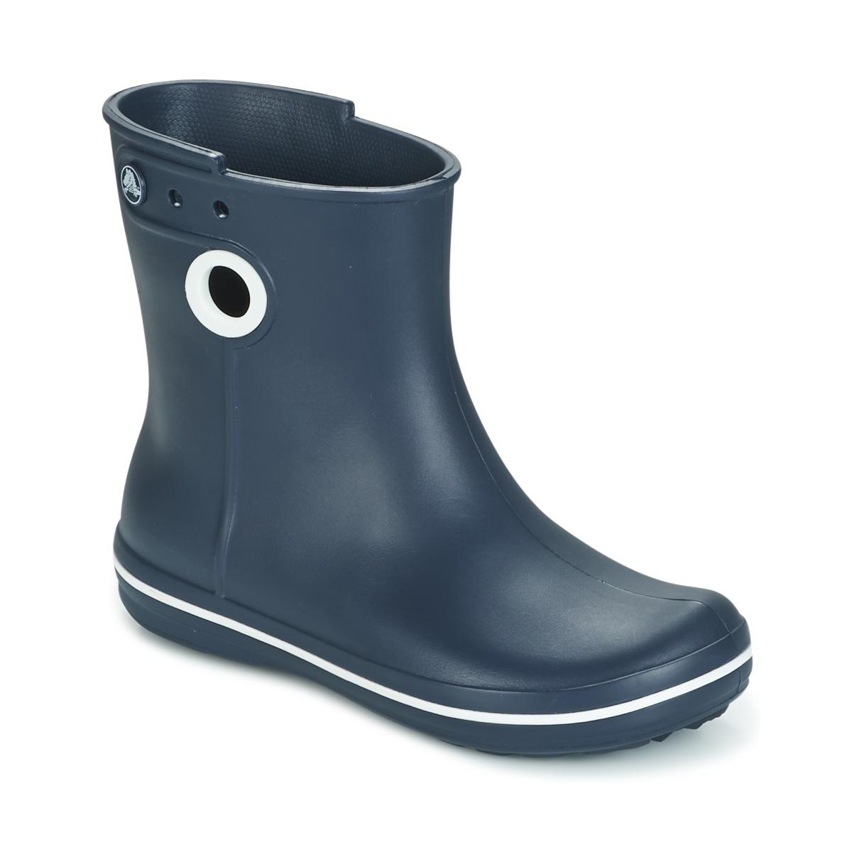 Crocs JAUNT SHORTY BOOTS Marine - Kostenloser Versand bei Spartoode ! - Schuhe Gummistiefel Damen 32,00 €