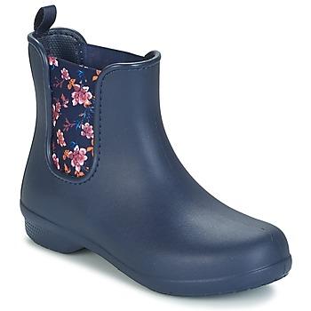 Schuhe Damen Boots Crocs CROCS FREESAIL CHELSEA Marine