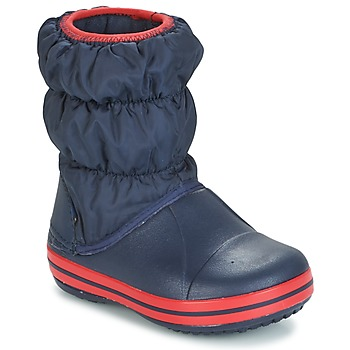 Schuhe Kinder Gummistiefel Crocs WINTER PUFF BOOT KIDS Marine