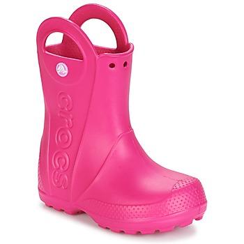 Schuhe Mädchen Gummistiefel Crocs HANDLE IT RAIN BOOT Rose