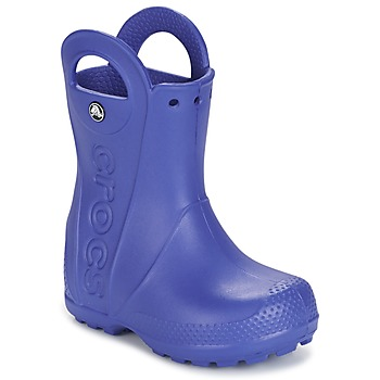 Schuhe Kinder Gummistiefel Crocs HANDLE IT RAIN BOOT Blau