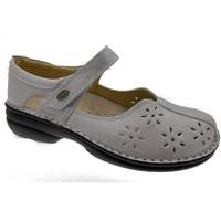 Schuhe Damen Ballerinas Calzaturificio Loren LOM2313av grigio