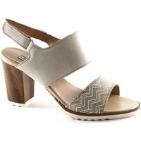 Schuhe Damen Sandalen / Sandaletten Grunland GRU-E17-SA1545-BE Beige