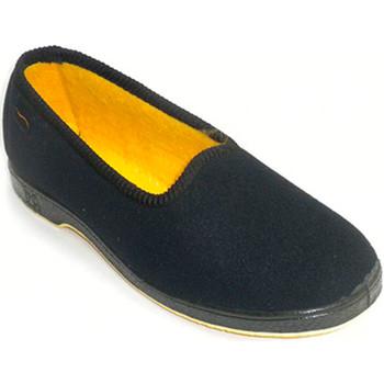 Schuhe Damen Hausschuhe Doctor Cutillas Frauenschuhe ältere Person bequem Doctor Schwarz