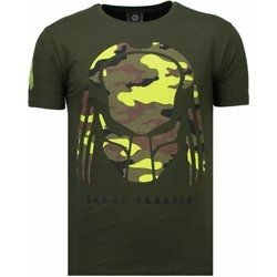 Kleidung Herren T-Shirts Local Fanatic Predator Strass Grün