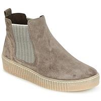 Schuhe Damen Boots Gabor VOULU Grau