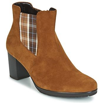 Schuhe Damen Low Boots Gabor KAPITU Camel
