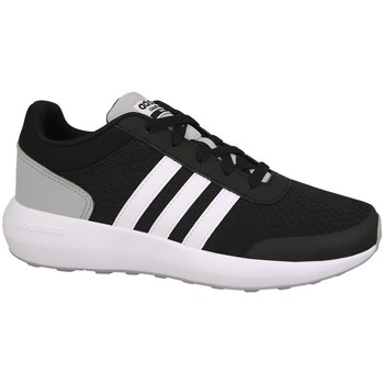 Schuhe Kinder Laufschuhe adidas Originals Cblackftwwhtnix Cloudfoam Race Weiß-Schwarz