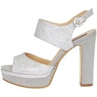 Schuhe Damen Sandalen / Sandaletten Silvana 769 Sandalen Frau Silber Silber