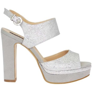 Schuhe Damen Sandalen / Sandaletten Silvana 769 Sandelholz Frau Silber Silber